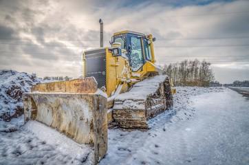 Construction machinery, Bulldozer
