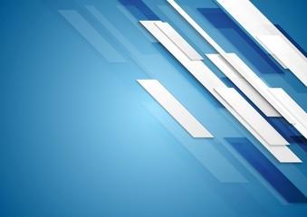 Blue shiny hi-tech motion background