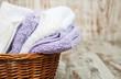 towels in basket - 78698444