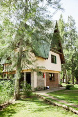 Country House In Forest