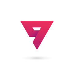 Letter G number 9 logo icon design template elements