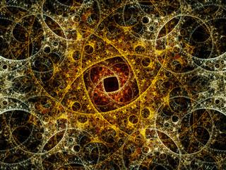 Mysterious fractal artwork