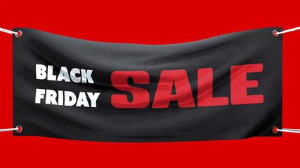 Venerdì nero, vendite, striscione