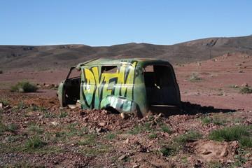 Epave et désert