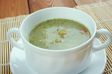 Broad Bean And Bacon Soup