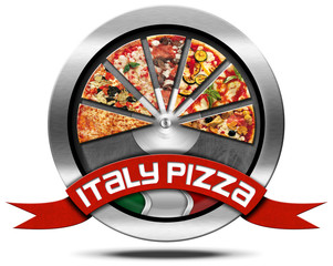 Italy Pizza - Metal Icon