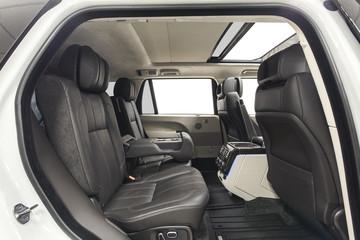 Car interior back seats