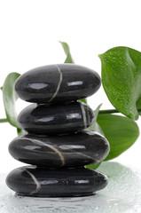 Massage Stones Wet