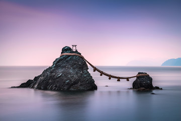 Wedded Rocks of Futami, Ise, Japan