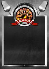 Italy Pizza - Menu Design