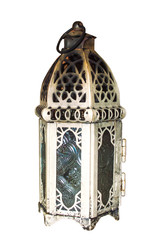 Vintage lamp isolated