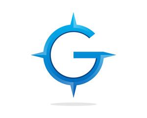 Globe Compass G Letter
