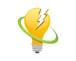 Lightning Bulb Electricity Direct