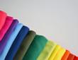 canvas print picture - Farben und Stoffe