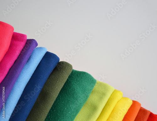 canvas print picture Farben und Stoffe