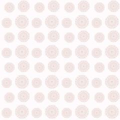 Floral round Pattern