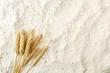 Leinwanddruck Bild - flour background