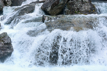 Waterfall (High Tatras, Slovakia).