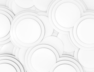 Abstract 3d geometric seamless pattern