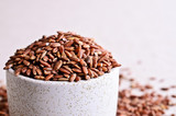 Brown unpolished rice poster