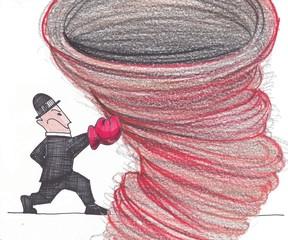 fightings of businessman