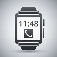 Vector smart watch icon