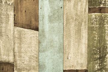 Old wood wall