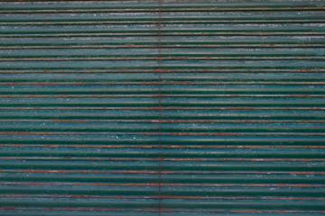 An Old galvanized green steel -  Dark green Background texture