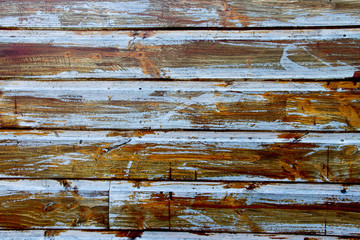 A Grunge wood panels used as background