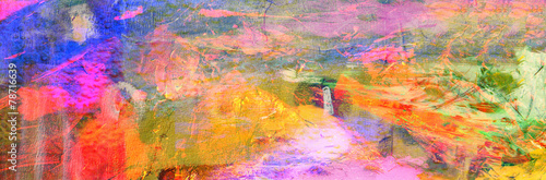 Abstract On Canvas - 78716639
