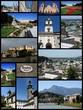 Salzburg, Austria. Travel collage.