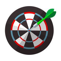 Icono juego de dardos