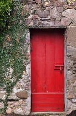 Red door-Sare-France