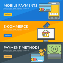 Concept for mobile payments, e-commerce, payment methods