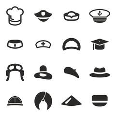 Hat Icons  Set 1
