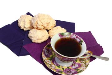 tea and meringue