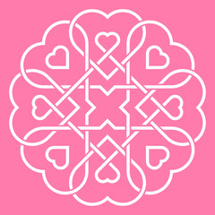 United hearts concept