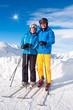 Skifahrer/Paar
