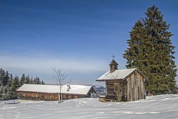 Kapelle an der Schwaigeralm