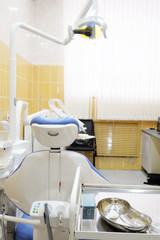 Dental clinic interior