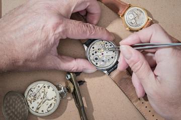 Repair of watches