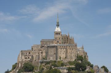 Mont Saint Michel (France).