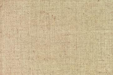 Natural textured horizontal grunge burlap sackcloth hessian sack