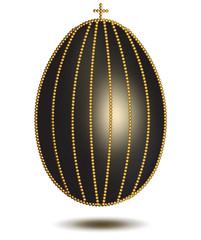 Egg with Golden Pearls