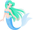 Beautiful mermaid - 78724671