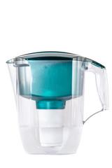 Green water filter.