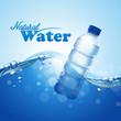 water bottle advertising