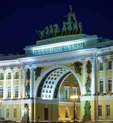 General Staff Building on Palace Square, Saint Petersburg