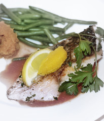 Red Fish Plate