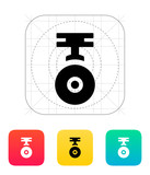 Camera for copter icon. poster